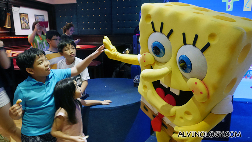 Nickelodeon Fiesta at Clarke Quay