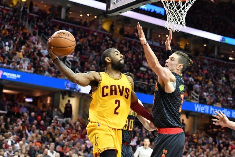 Hawks stun Cavaliers despite absence of stars
