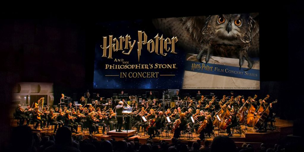 The Magical World Of Harry Potter comes alive at this screening with music by a live symphony orchestra