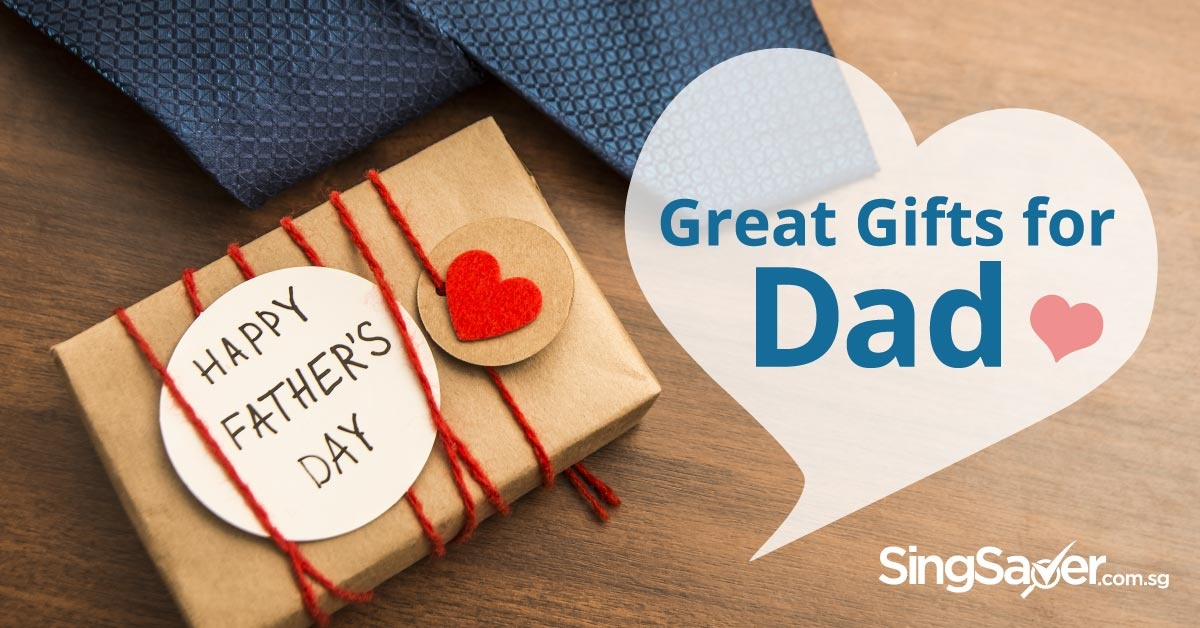 Perfect Father's Day gift ideas for 6 types of Singaporean Dads