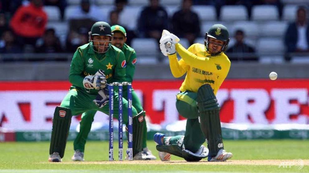 Cricket: Pakistan stun South Africa in Champions Trophy
