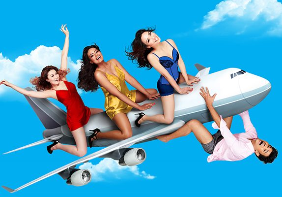 Boeing Boeing soars back onto the stage this July