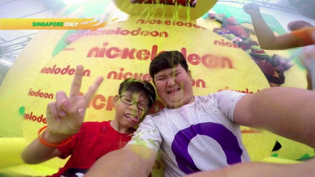 Get slimed at Nickelodeon Slime Cup!