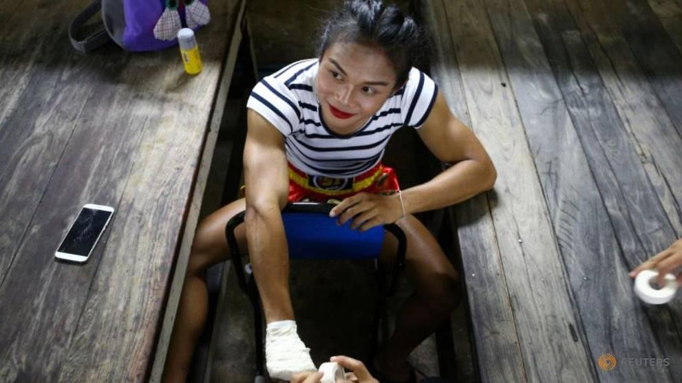 Thai transgender boxer winning fight for acceptance