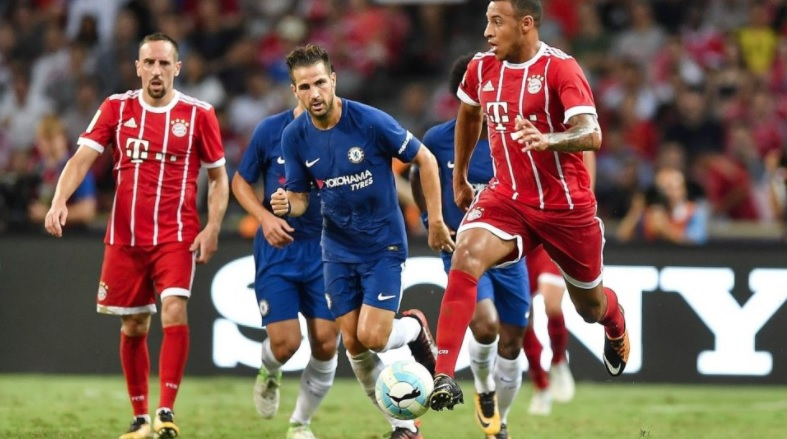 Morata debut upstaged by two-goal Mueller in Bayern Munich v Chelsea match in Singapore