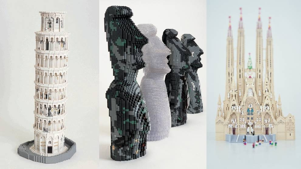 Brick by brick: New Lego exhibition gathers together World Heritage Sites