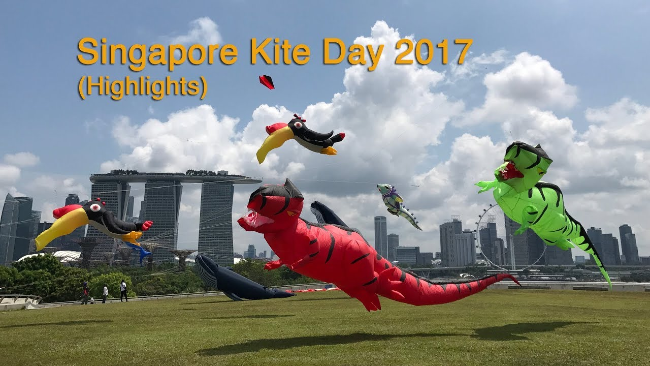 Singapore Kite Day 2017 at Marina Barrage