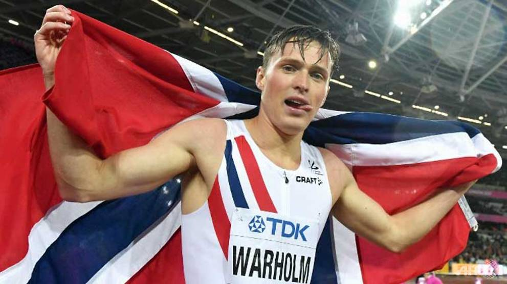 Athletics: Warholm screams to victory on night of shocks