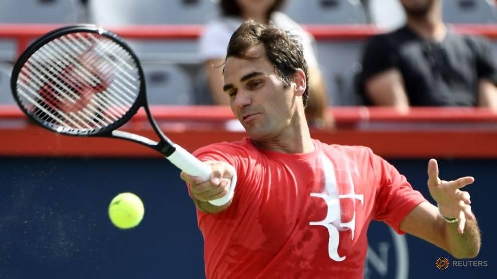 Federer cruises in first match since Wimbledon win