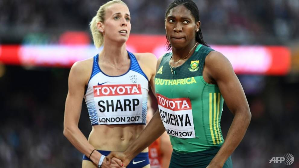 Athletics: Semenya strides smoothly into 800m final