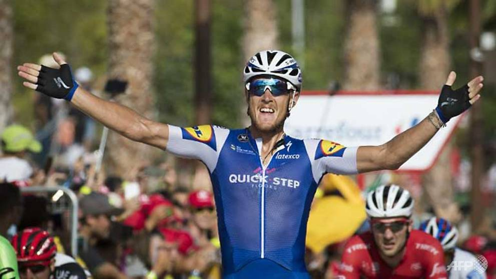 Cycling: Trentin wins fourth stage, Froome keeps Vuelta lead