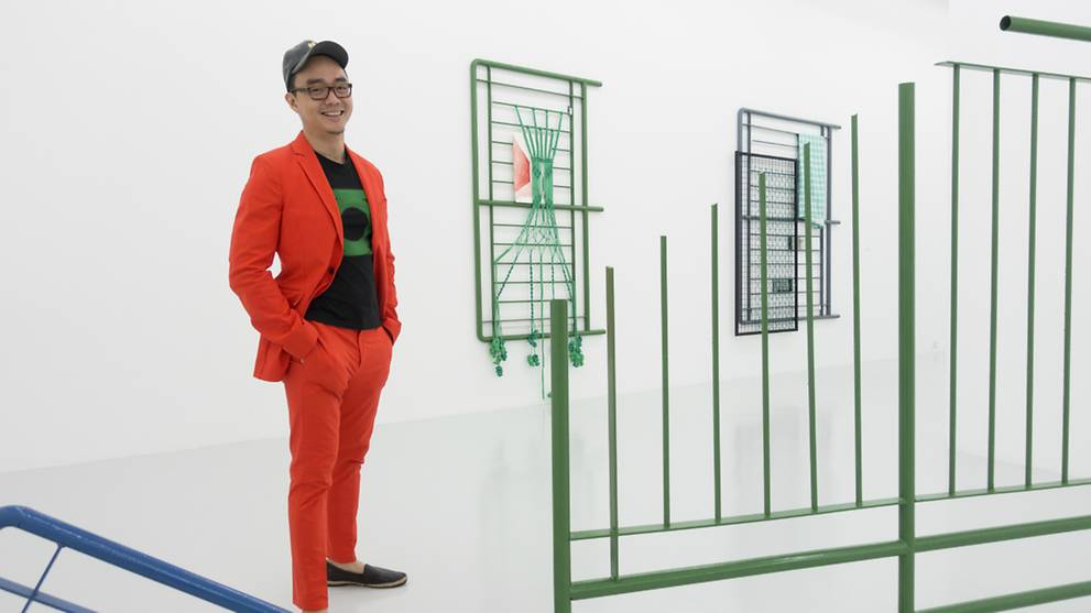 From streets to art gallery: Singapore's familiar green railings are the subject of a new show