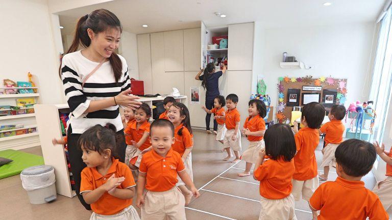 总理和陈川仁部长贺教师节 特向幼教老师表谢意