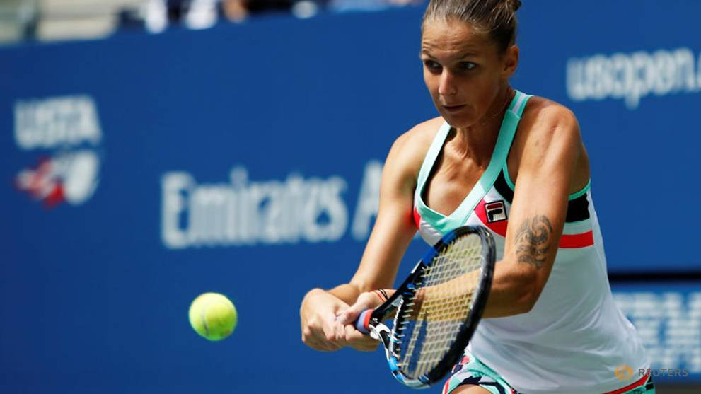 World number one Pliskova survives scare to advance at US Open