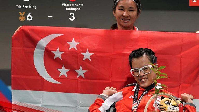【亚细安残疾人运动会】最新消息:我国选手在乒乓球硬地滚球等项目夺牌