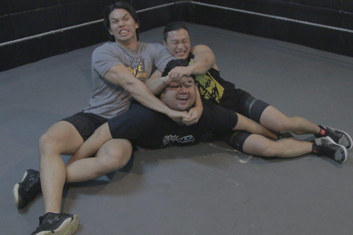 S'pore has a wrestling community & S'poreans can get involved. It's safe. Enough.