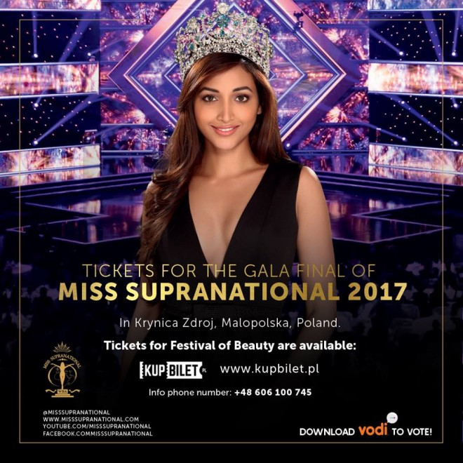 Miss Supranational 2017: Vote for your favourite contestant, here's how to do it