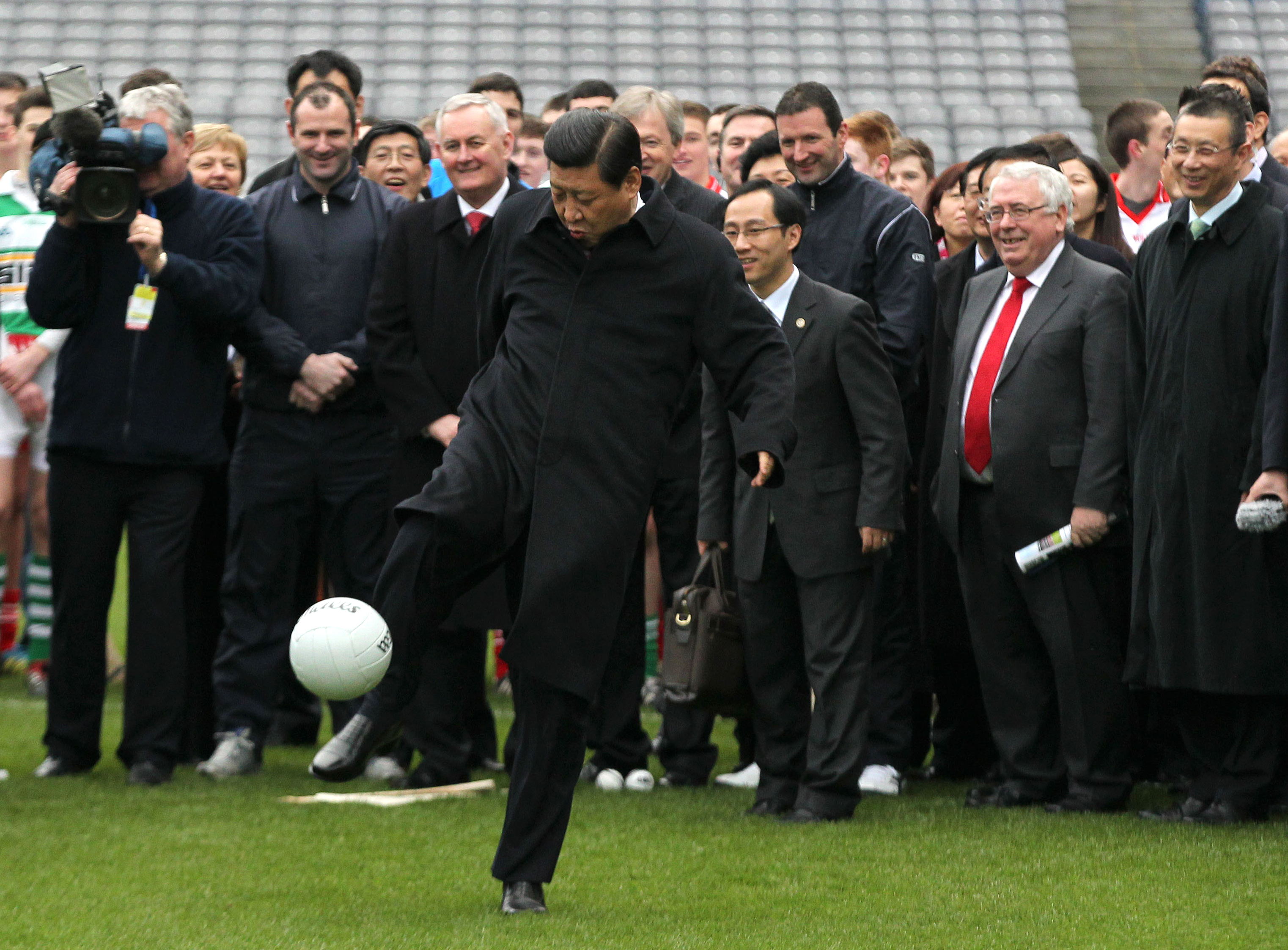 China pouring money into football to win World Cup within next 20 years