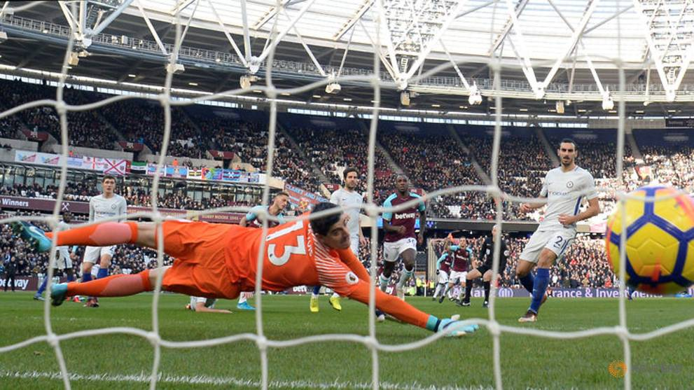 Chelsea stunned by West Ham, Tottenham return to form