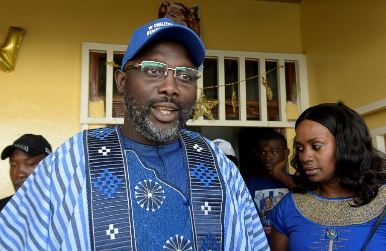 George Weah rallies Liberia faithful ahead of Dec 26 vote