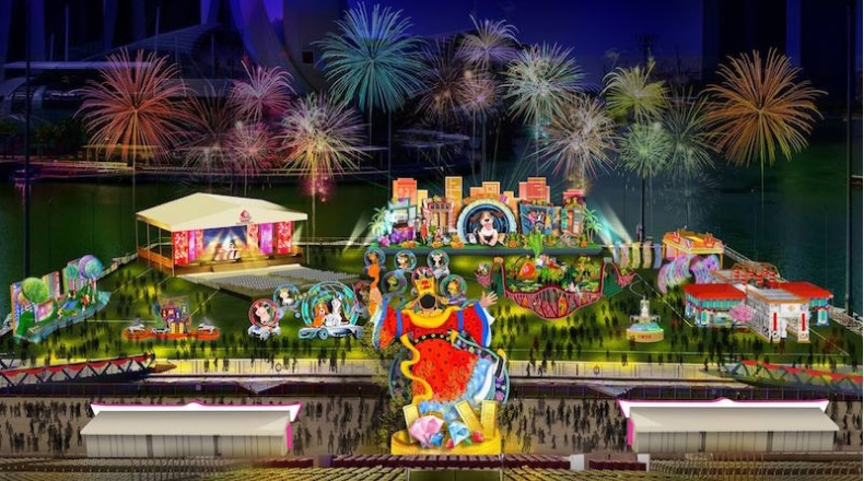 Expect 11 consecutive nights of fireworks and laser light shows at this year's River Hongbao
