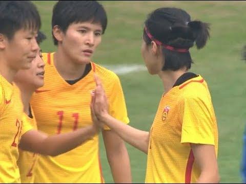 China beats Thailand 2-1 in women's football tournament