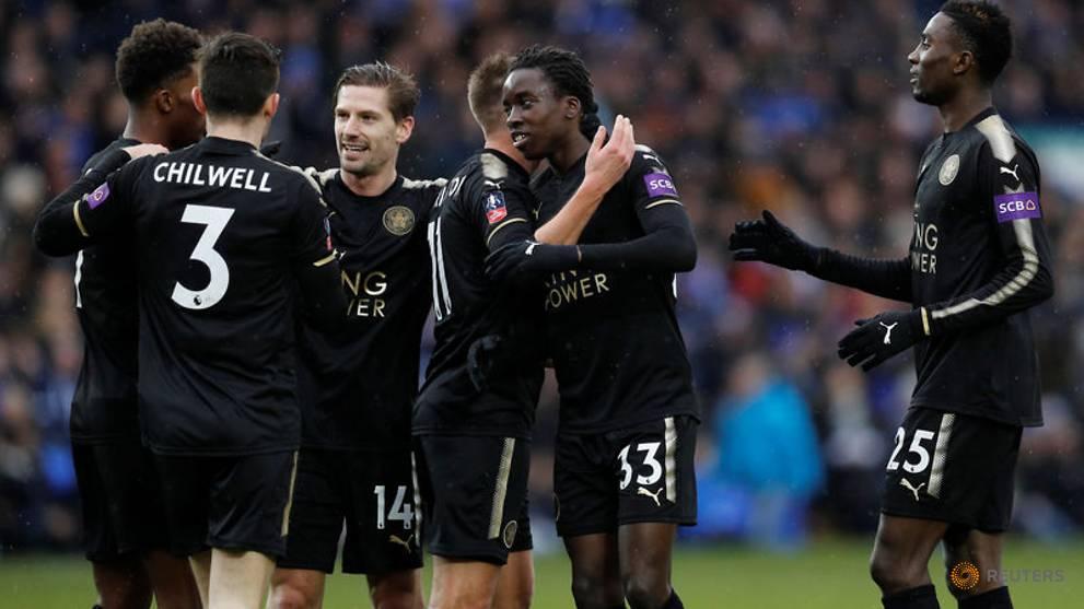 Five-goal Leicester overcome 'Posh' hurdle in FA Cup