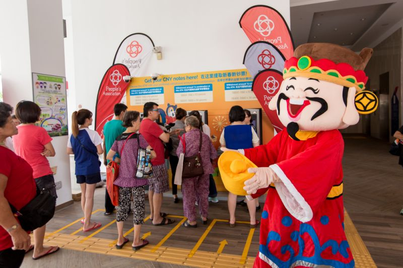 Chinese New Year in Singapore: Click and collect new notes