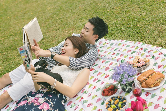 This is how you can spend Valentine's Day happily without spending money!