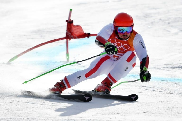 Hirscher in giant slalom pole, eyes second gold