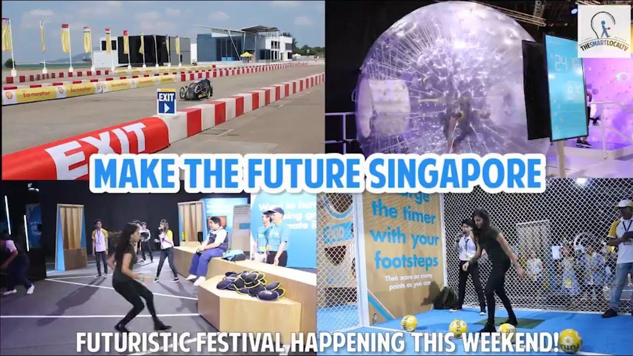 Make The Future Singapore - futuristic festival