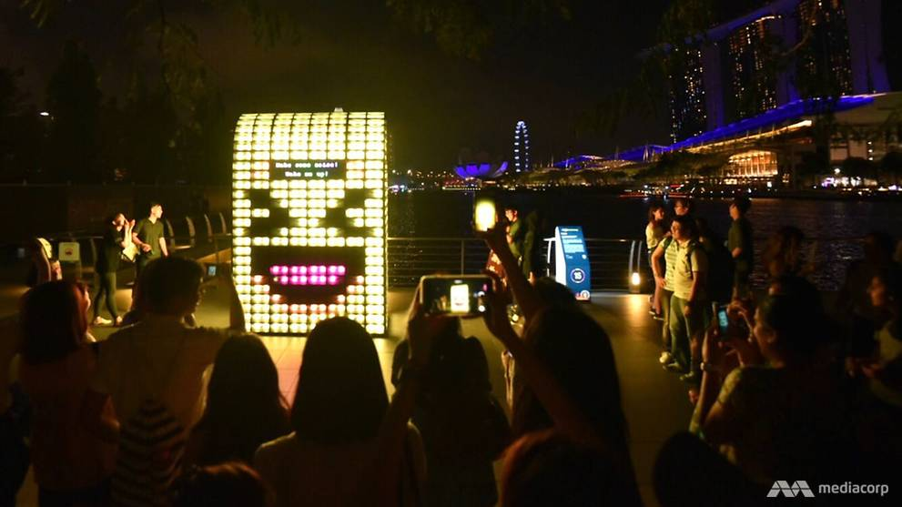 i Light Marina Bay 2018 in pictures