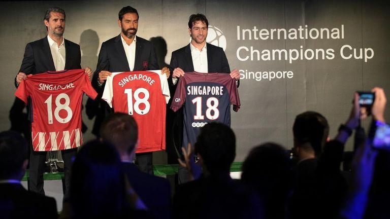 我国将连续第二年举办国际冠军杯足球赛新加坡站