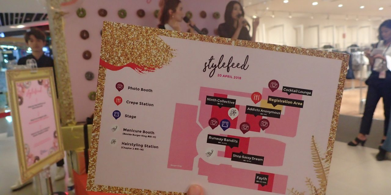 Achieve your #FashionGoals with local blogshop fashion brands at Plaza Singapura!
