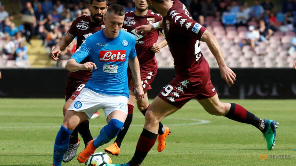 Juve almost certain to win title after Napoli held
