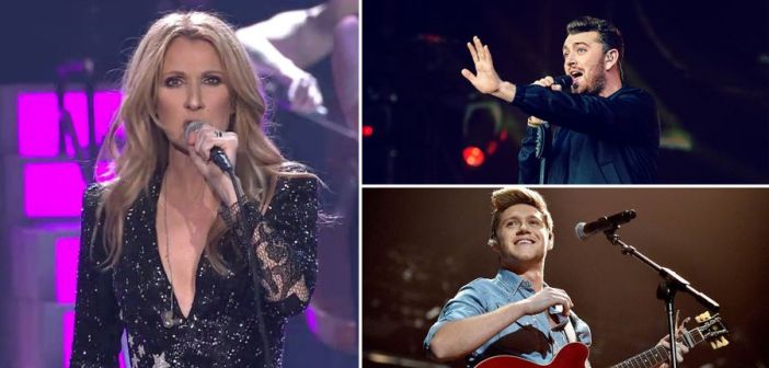10 concerts to look forward to in 2018, including Sam Smith, Mariah Carey & Celine Dion