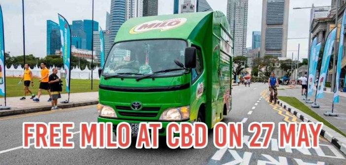 Car-Free Sunday: Draw on roads, drink free Milo & skate around CBD
