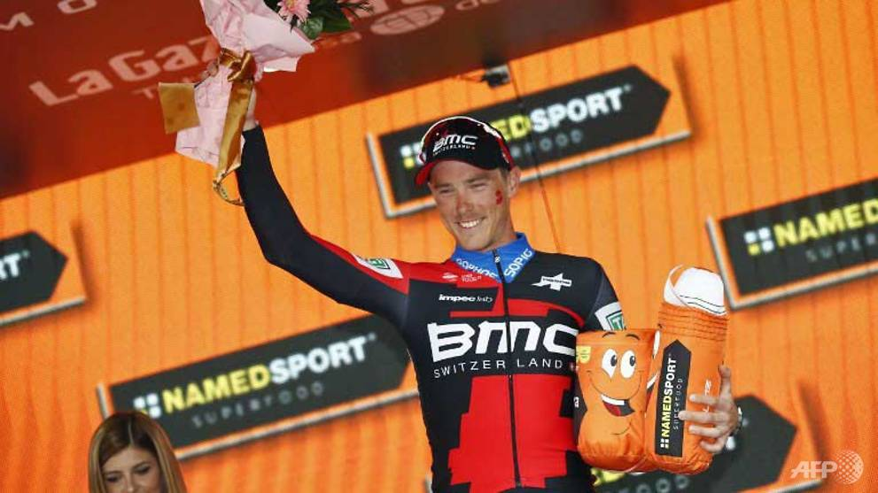 Cycling: Dennis wins Giro's 16th stage time-trial, Yates holds lead