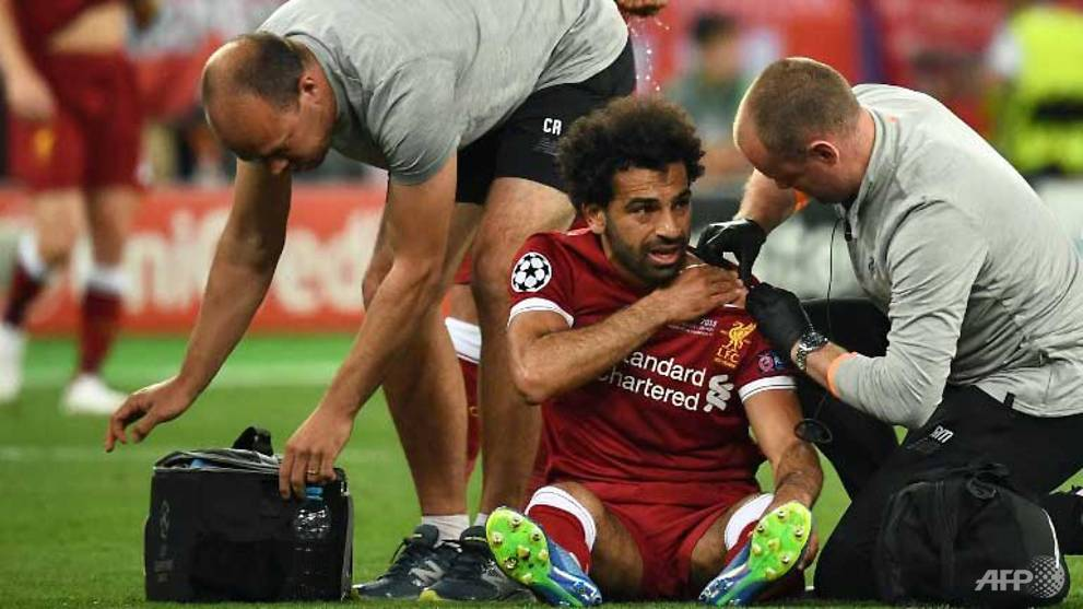 Football: Salah could be out for 'three to four weeks', says Liverpool physio