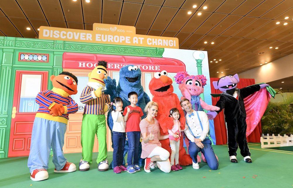 Sesame Street returns to Changi Airport this June school holiday!