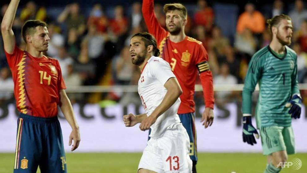 Football: Spain stay unbeaten under Lopetegui with Swiss draw