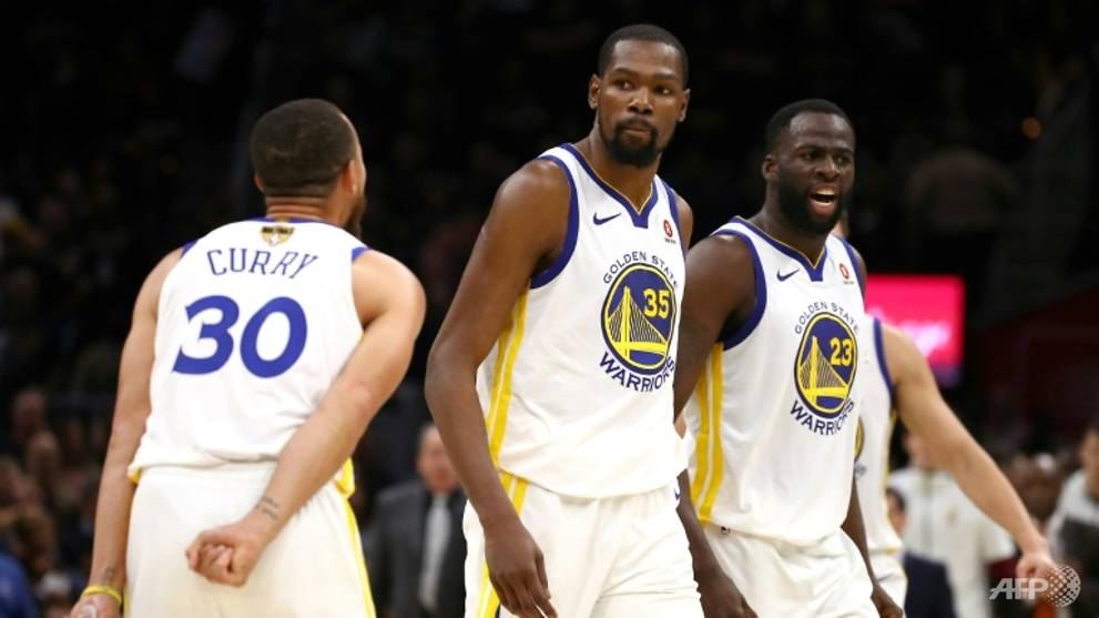 Basketball: Durant scores 43 to spark Warriors to brink of NBA title
