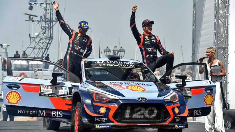 Motor Rally: Neuville reels in Ogier to win Rally of Italy