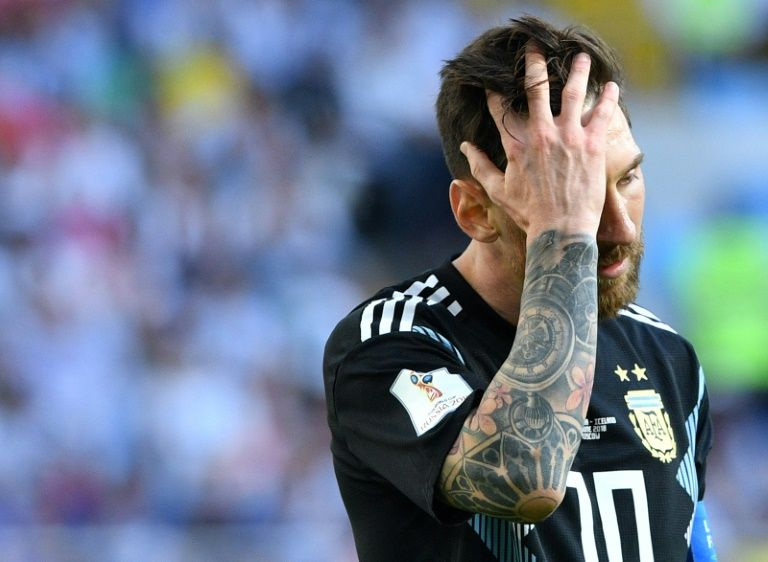 Messi misery as Iceland hold Argentina, France down Australia