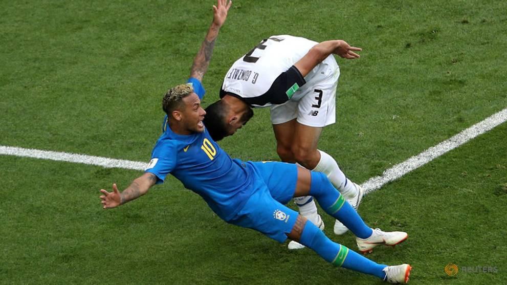 Neymar histrionics risk making him his own worst enemy