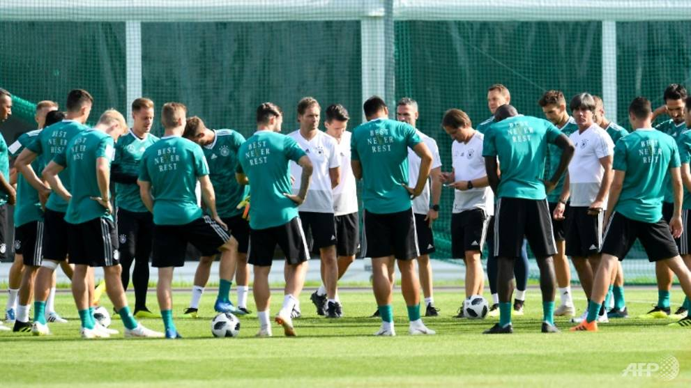 Day of World Cup reckoning for holders Germany