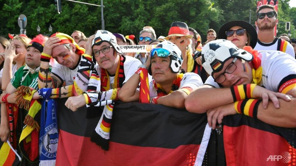 World Cup: Shock, scorn as fans react at Germany exit