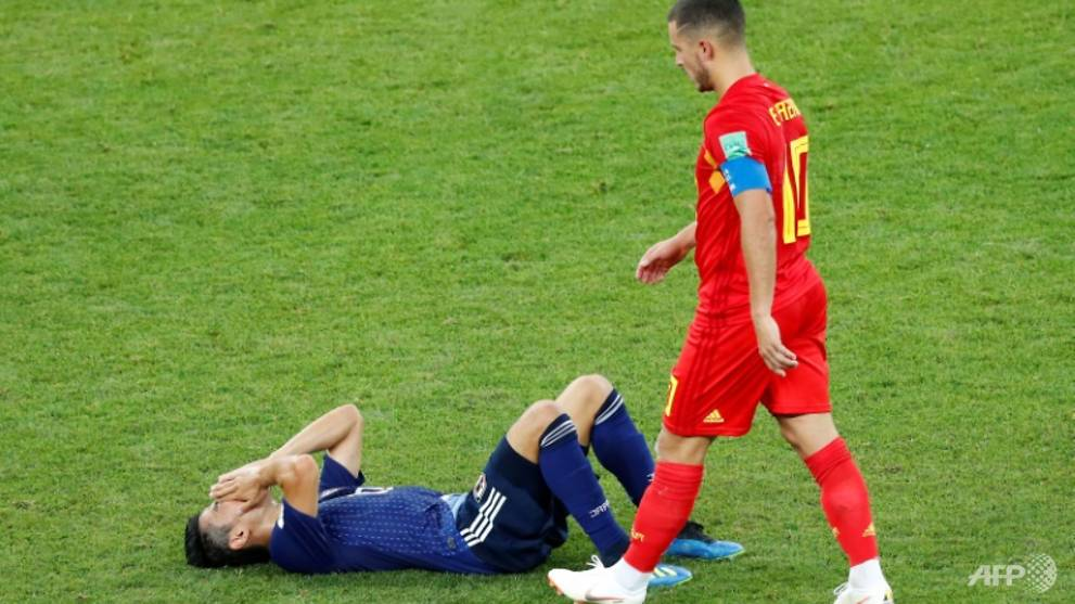 Japan 'sad but proud' after bravely bowing out of World Cup