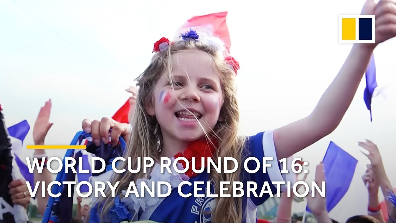 World Cup 2018 round of 16: Moments of victory and celebration