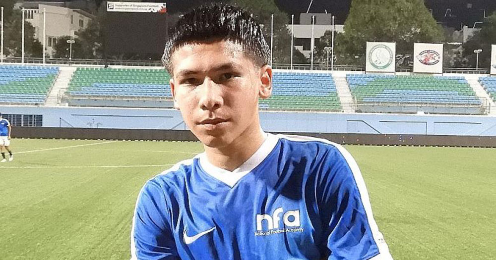 S'pore could lose first-ever S'porean EPL signing Ben Davis to Thailand or England